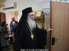 The Archbishop-Elect of Madaba welcomes the Bridal leaders at his house