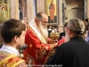 The Most Reverend Archbishop Aristovoulos of Madaba at the Holy Communion