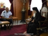 Mr. Filokypros conversing with His Beatitude