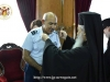 His Beatitude offers a blessing to Mr. Filokypros Yiannakis