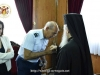 Mr. Filokypros Yiannakis kisses His Beatitude's hand