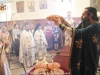 Archimandrite Kallistos at the blessing of bread