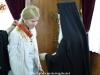 His Beatitude awards Julia Svetlichnaya