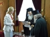 The Governor of Charkov city in Ukraine with His Beatitude and the Geronda Secretary-General