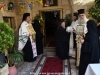 The Priests in their liturgical vestments to welcome His Eminence