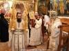 The Most Reverend Archbishop Aristarchos of Constantina at the Divine Liturgy