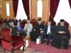 The Most Reverend Metropolitan Isaiah of Tamasos meeting His Beatitude