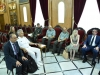 Meeting of the Minister of Defense of Cyprus and His Beatitude