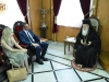 His Beatitude, Mr. Aggelidis and Mrs. Siambou