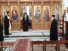 His Beatitude and Entourage at the Exarchy of the Holy Sepulchre